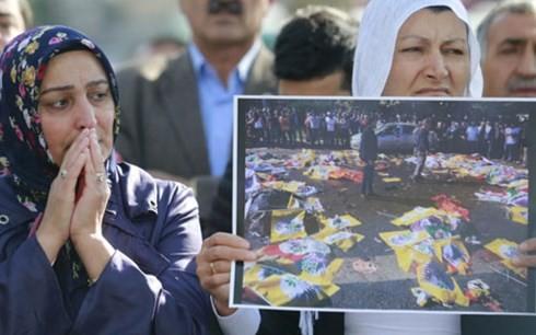 """土耳其称安卡拉恐怖袭击事件或系""""伊斯兰国""""组织所为 - ảnh 1"""