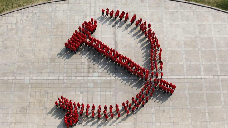 中共十八届五中全会在北京开幕 - ảnh 1