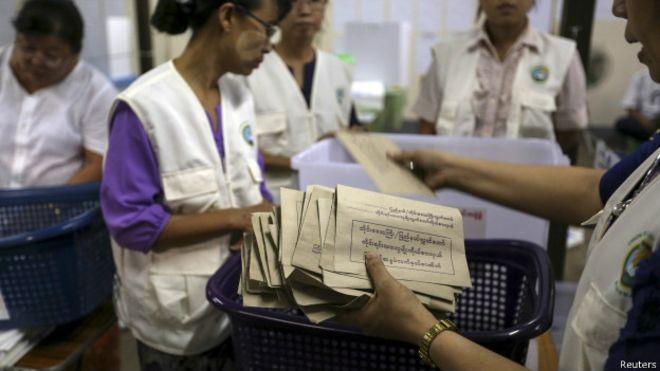 缅甸选举结果将于11月9日至15日公布 - ảnh 1