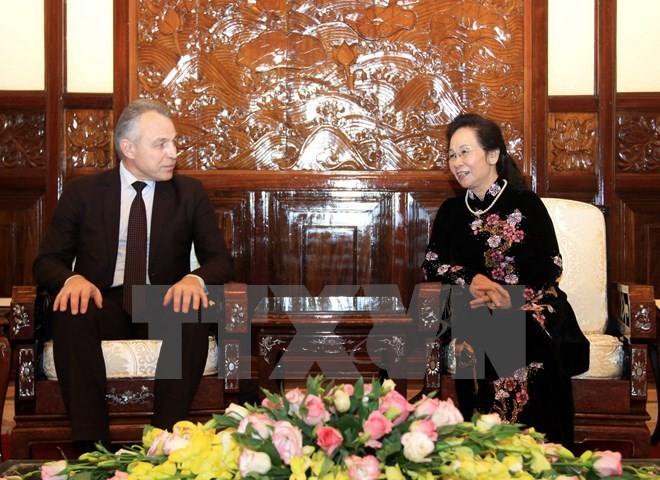 越南和白俄罗斯加强工会组织合作 - ảnh 1