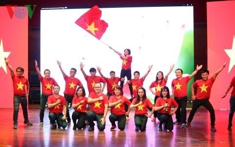 """""""越南色彩""""——中国武汉越南留学生的文化聚会 - ảnh 1"""