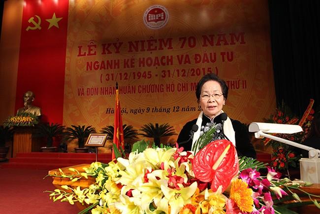 越南计划投资部门在国家发展中占有重要地位 - ảnh 1