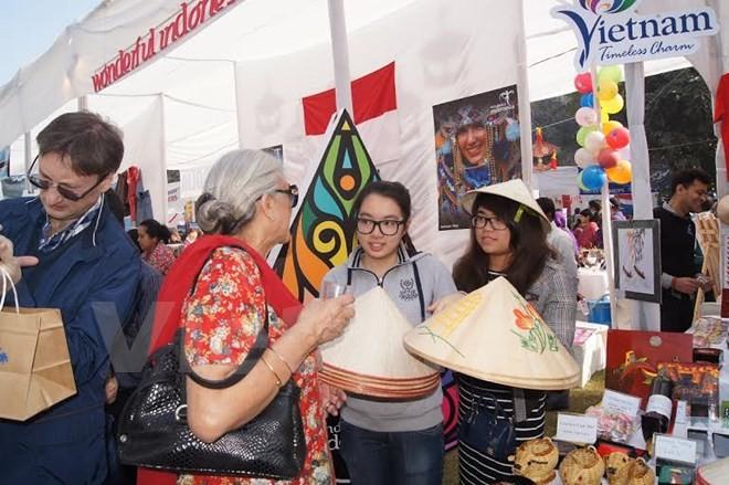 越南参加印度慈善义卖活动 - ảnh 1
