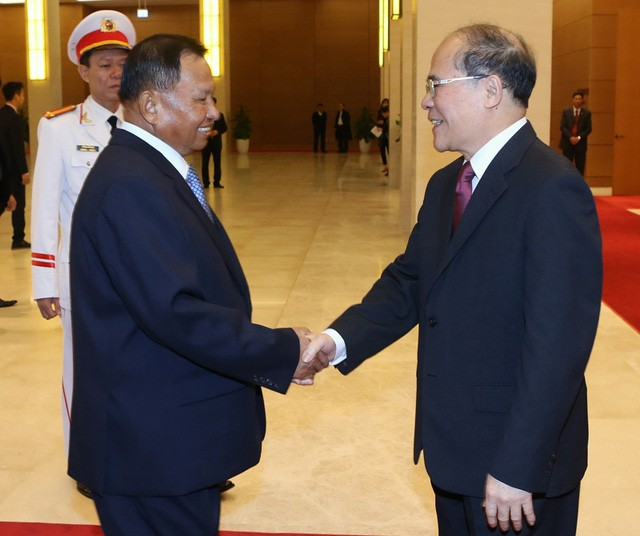 越南与柬埔寨加强议会合作 - ảnh 1