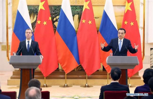 俄罗斯中国签署三十多项合作协议 - ảnh 1