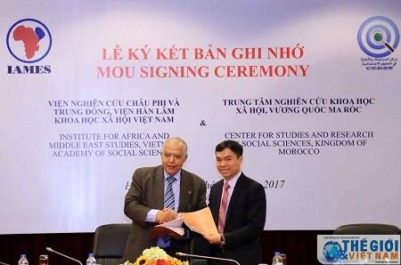 越南与摩洛哥开展科学信息交流合作 - ảnh 1
