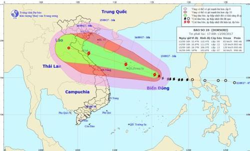 """越南各地开展各项紧急措施应对台风""""杜苏芮""""   - ảnh 1"""