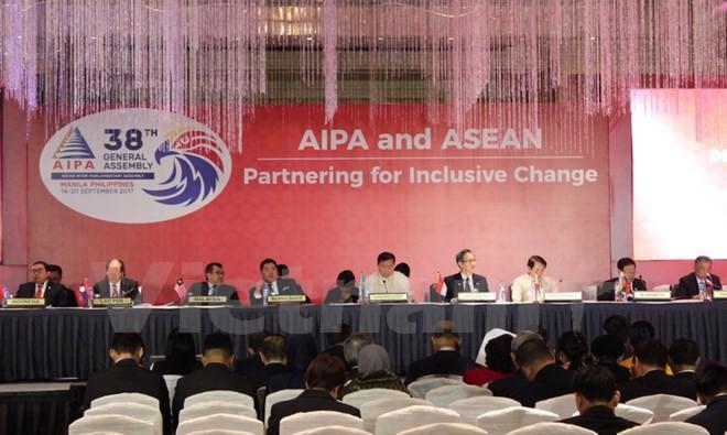 AIPA 38:越南就东盟经济共同体的协调发展提出倡议 - ảnh 1