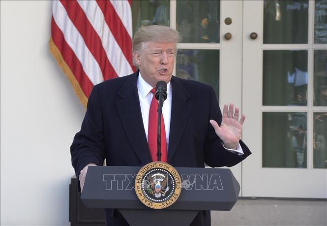 美国总统特朗普警告中国加快贸易谈判 - ảnh 1