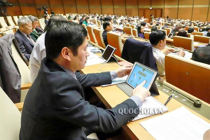 越南第14届国会第7次会议:首次运作电子国会 - ảnh 1