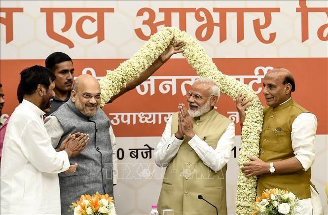 印度议会下院选举:世界各国领导人向印度总理莫迪表示祝贺 - ảnh 1