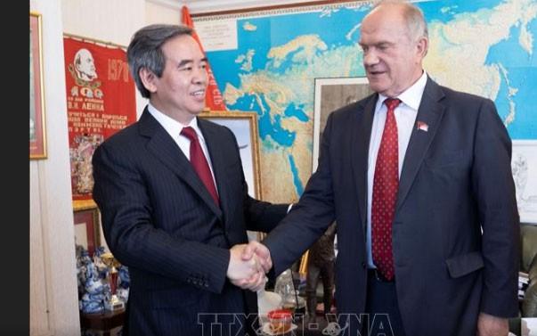 加强越俄两党合作关系 - ảnh 1