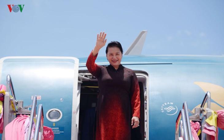 阮氏金银出席AIPA-40 并对泰国进行正式访问 - ảnh 1