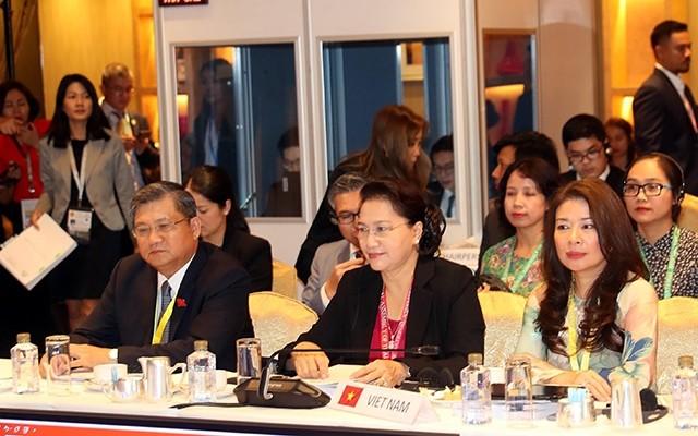 阮氏金银出席AIPA-40委员会会议 - ảnh 1