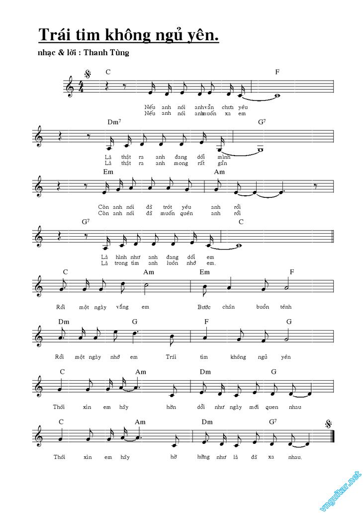 学唱歌曲《难以入睡的心》 - ảnh 2