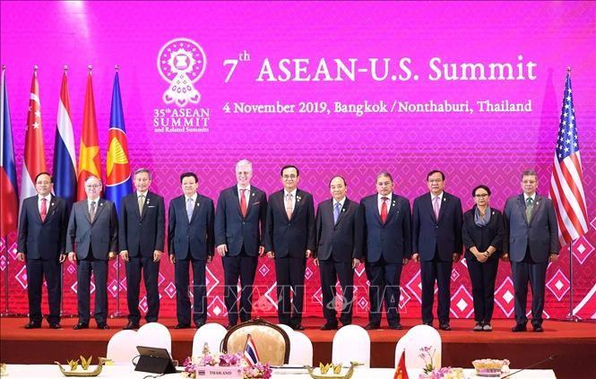 越南政府总理阮春福出席第7次东盟-美国领导人会议和第14届东亚峰会 - ảnh 1