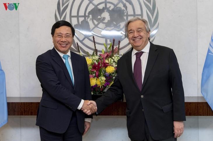 联合国秘书长:越南在维护东盟和平稳定中发挥重要作用 - ảnh 1
