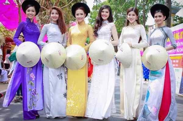 一组歌颂越南国服——奥黛的歌曲 - ảnh 1
