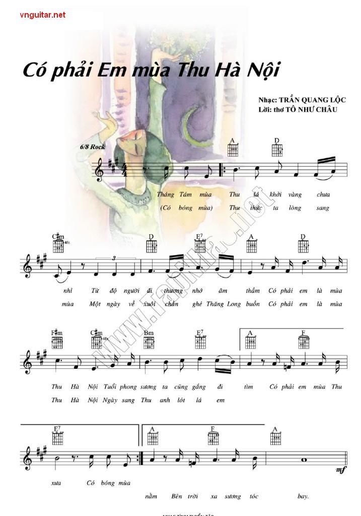 歌曲《你是不是河内的秋天?》的作者、作曲家陈光禄 - ảnh 1