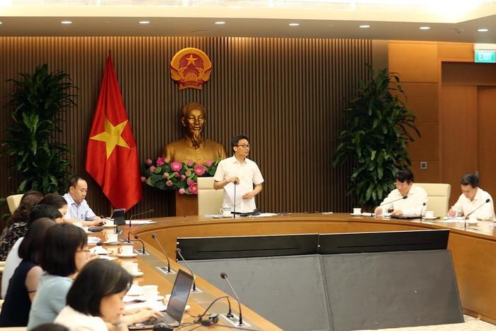 越南政府副总理武德担:加快越南专利药品生产 - ảnh 1