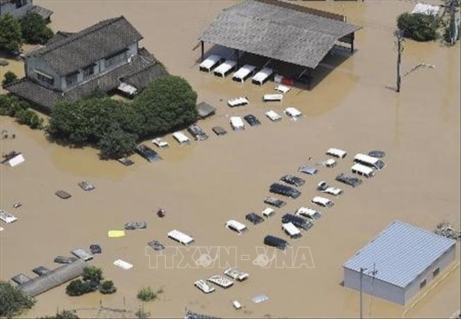 自然灾害给中国和日本造成巨大损失 - ảnh 1