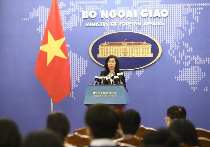 越南对各国对东海问题持有符合国际法的立场表示欢迎 - ảnh 1