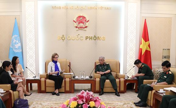 """越南为""""妇女与联合国维和行动""""国际会议做好准备 - ảnh 1"""