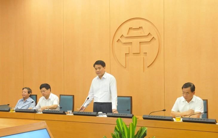 越南疫情复杂变化,河内追踪曾与确诊病例接触的人 - ảnh 1