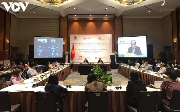 东盟—经济合作与发展组织加强行政改革合作以防控新冠肺炎疫情 - ảnh 1