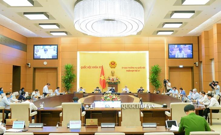 越南国会常委会向一些重要内容提供意见 - ảnh 1
