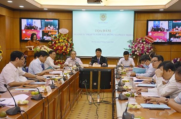 越南司法部门为建设社会主义法治国家做出了积极贡献 - ảnh 1