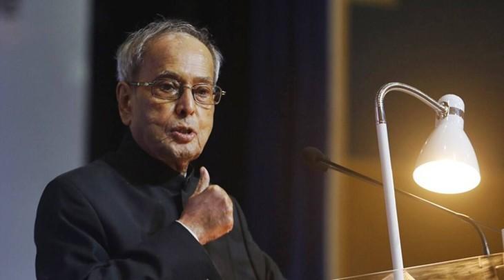 电唁印度前总统普拉纳布·慕克吉去世 - ảnh 1