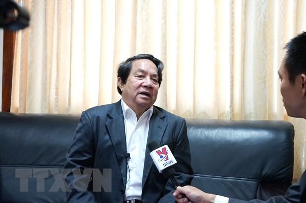 AIPA 41:柬埔寨国会秘书长高度评价越南关于青年议会委员会的倡议 - ảnh 1