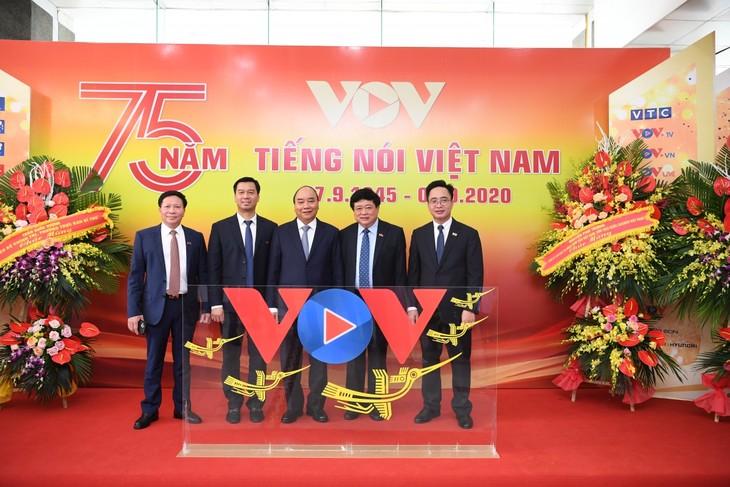 本台台庆75周年:VOV将以新的视野和渴望实现发展 - ảnh 1