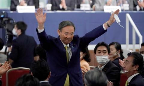 日本国会众参两院投票选举菅义伟为日本首相 - ảnh 1