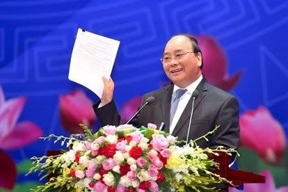 """越南政府总理与企业界和知识分子代表的""""对话2045"""" - ảnh 1"""