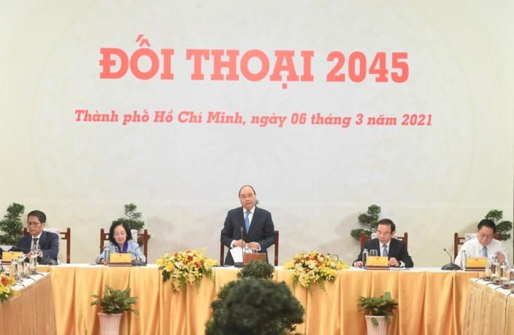 阮春福:把建设强大越南的目标化为现实 - ảnh 1