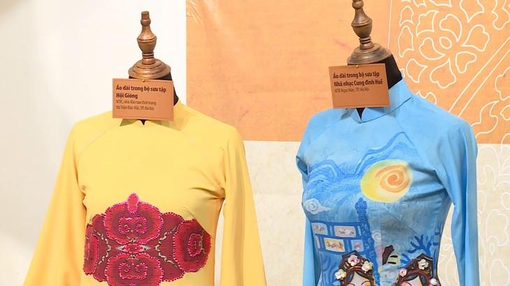 越南传统 奥黛上的越南文化遗产 - ảnh 6