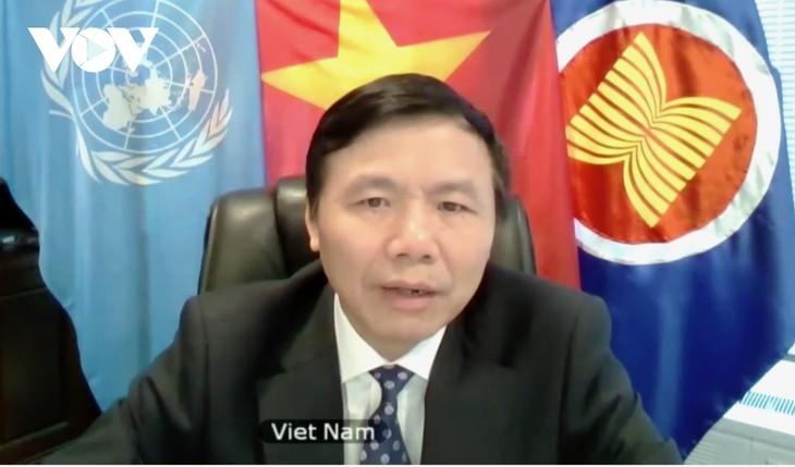 越南呼吁国际社会帮助缅甸终止暴力稳定局势 - ảnh 1