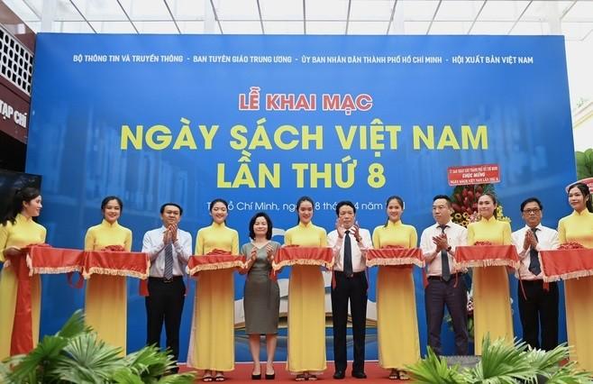 越南第八次图书日在胡志明市举行 - ảnh 1