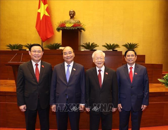 各国领导人向越南党、国家、政府和国会领导人致贺电 - ảnh 1