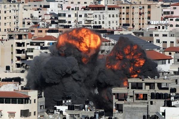 以巴在加沙地带的冲突持续升级 - ảnh 1