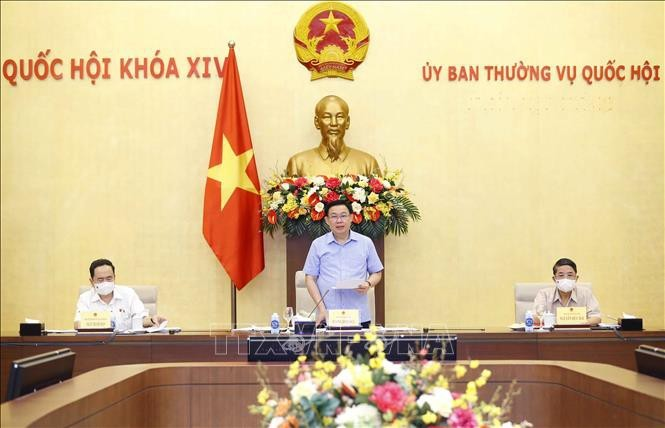 越南国会主席王庭惠:加快落实疫苗战略,重视保障宏观经济 - ảnh 1