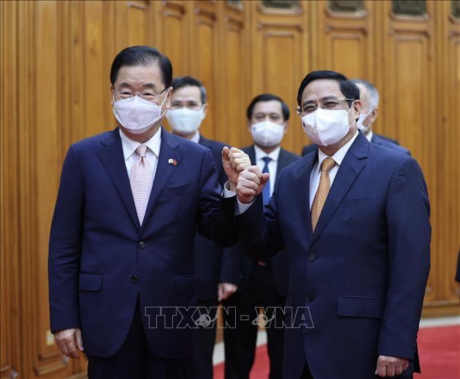 越南希望韩国帮助提供新冠肺炎疫苗 - ảnh 1