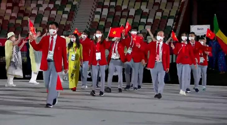 2020年东京奥运会开幕:情感的联系 - ảnh 1