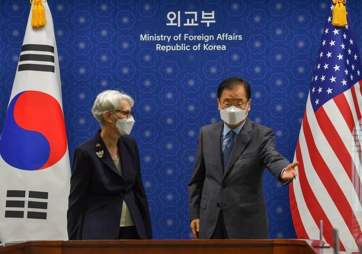 美国谋求与朝鲜重启朝鲜半岛无核化谈判 - ảnh 1