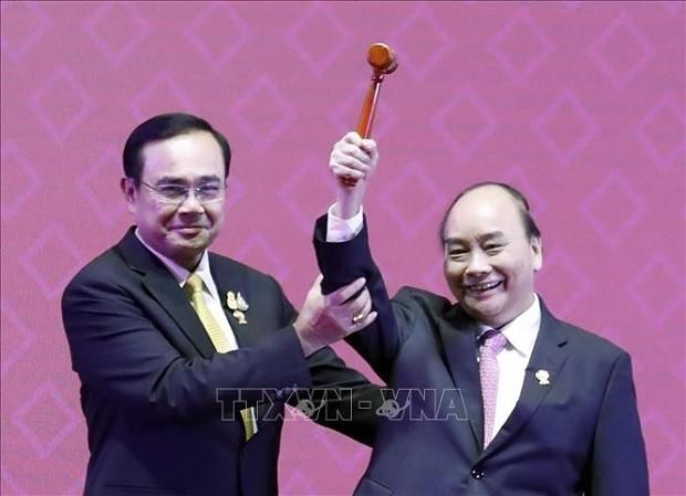 越南与东盟共同体并肩同行、共谋发展的26年 - ảnh 3