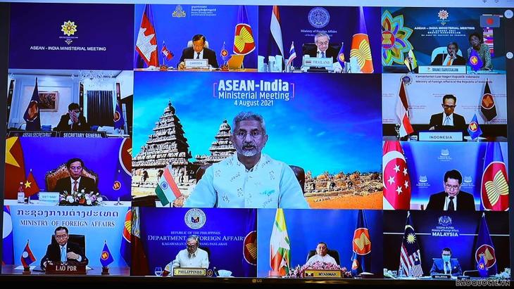 东盟与印度互助应对疫情并促进复苏 - ảnh 1