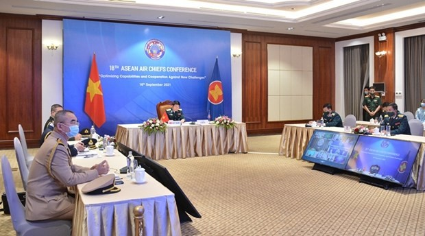 越南提出东盟各国空军强化应对自然灾害和疫情能力的建议 - ảnh 1