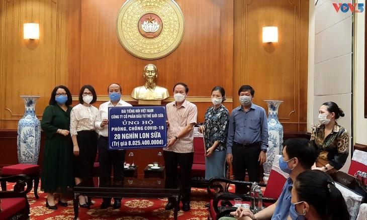越南之声广播电台与援助疫区民众计划同行 - ảnh 1